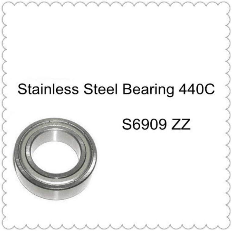 Majhengg S6909ZZ S6909Z Thin Section Bearing (5PCS) ABEC-1 440C