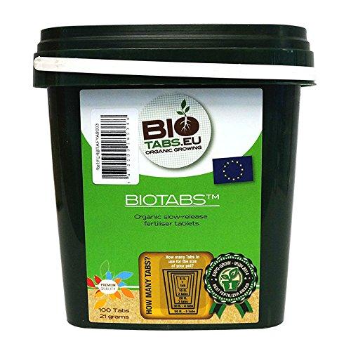 100x Tabletas de Abono/Fertilizante 100% Orgánico NPK BioTabs