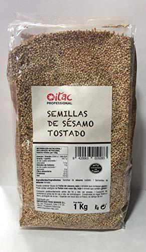 SEMILLAS DE SESAMO TOSTADO ITAC 1KG