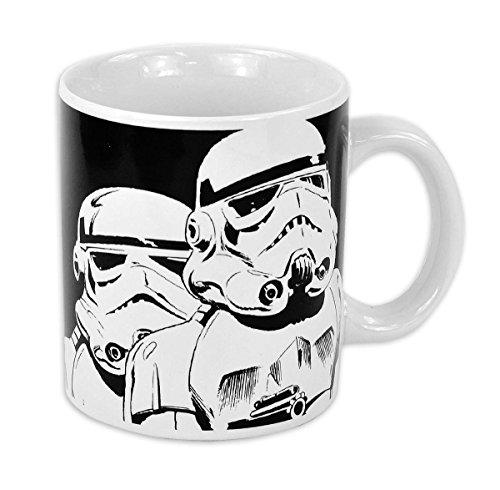 Star Wars mugbsw30Taza de café, cerámica, Blanco, 12x 10x 9cm