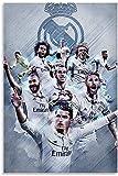 Iooie Leinwand Malerei Bild Real Madrid für Bürodekor