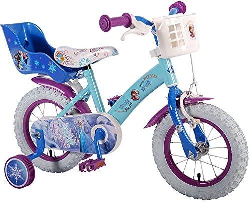 12 Zoll Kinderfürrad Eisk gin fürrad Dreirad Disney Frozen Anna & Elsa 51261-CH