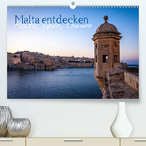 Malta entdecken Malta, Gozo, Comino (Premium, hochwertiger DIN A2 Wandkalender 2021, Kunstdruck in Hochglanz)