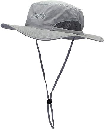 EZCAMP Chapeau de P/êche pour Hommes Chapeau de Soleil pour Hommes avec Bande Ajustable