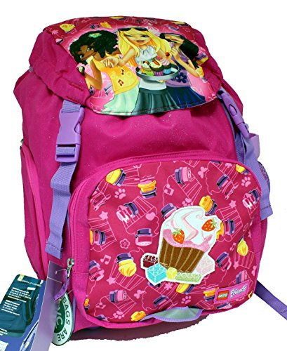 Rucksack Outdoor Cupcakes Friends Lego