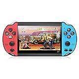 X1 4.3-Polegadas Handheld Game Console Retro Portátil Game Console 8G Built-In 10 000 Jogos Clássico Nostálgico Dual-Vibração Do Jogo Jogador Do Jogo Eletrônico de Presente para
