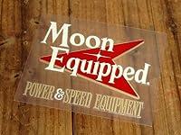 ムーンアイズ ステッカー MOONEYES 転写式 Power & Speed Equipment_SC-MQD030-MON