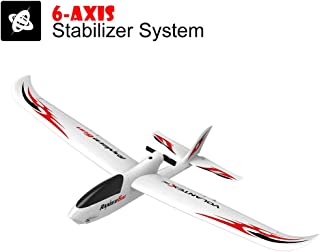 Huitrady 6-Axis Gyro RC Airplane with Easy-to-Fly 761-2 RTF Plane Boy,Outdoor Sport Game Toys, Birthday Party Favors (White)