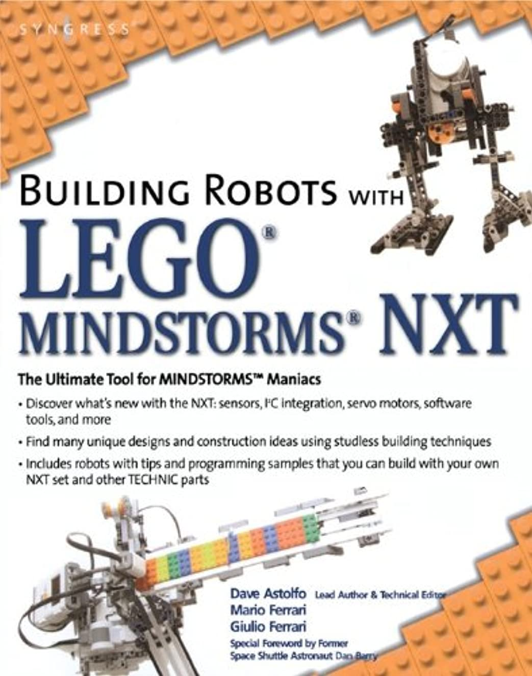 ソフィー枕に慣れBuilding Robots with LEGO Mindstorms NXT (English Edition)