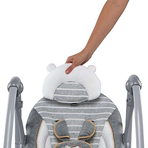 51aPNi7Z5tL 10 of the Best Baby Swing for Big Heavy Babies 2021 Review