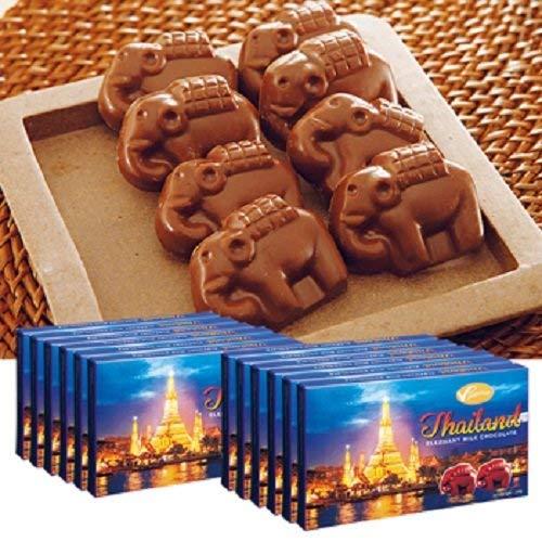 タイ エレファント チョコレート 12箱セット【タイ バンコク おみやげ(お土産) 輸入食品 スイーツ 】
