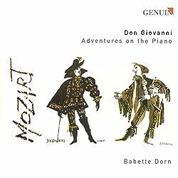 Mozart : Don Giovanni - Aventures au piano