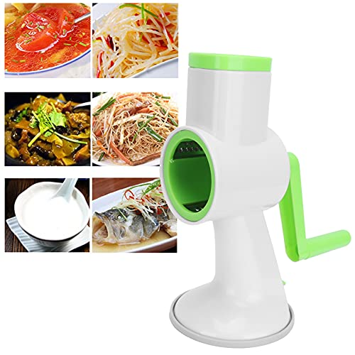 Cortador de verduras, trituradora de verduras fácil de operar, que ahorra espacio, portátil, liviano, eficiente para uso doméstico, para la cocina