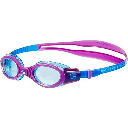 Speedo Futura Biofuse Flexiseal Gafas Natación Infantil para Piscina, Color Azul/Violeta, Talla unica