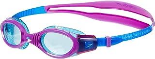 comprar comparacion Speedo Futura Biofuse Flexiseal Gafas Natación Infantil para Piscina, Color Azul/Violeta, Talla unica