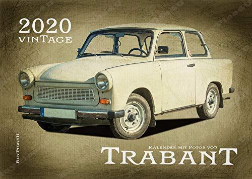 A3 Kalender 2020 mit Fotos von Trabant im Retro Style (BuyPics4U)