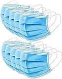 50 Disposable Surgical Masks 3-Layer Masken staubdicht Schutzmasken Atemmasken mit Ohrr