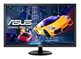 ASUS VP228QG - Monitor gaming de 21.5' Full HD (1920 x 1080, panel TN, 16:9, HDMI, DisplayPort, 1 ms, 75 Hz, Flicker-Free, FreeSync, altavoces incluidos), negro