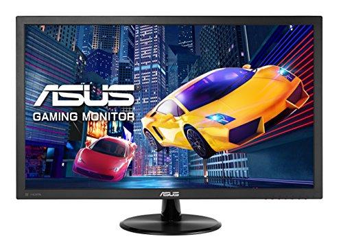 ASUS VP228QG - Monitor gaming de 21.5' Full HD (1920 x 1080, panel TN, 16:9, HDMI, DisplayPort, 1 ms, 75 Hz, Flicker-Free, FreeSync, altavoces incluidos), negro