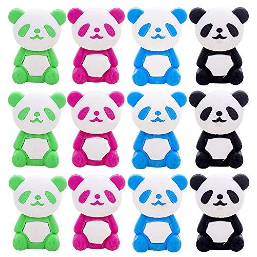 32 Pcs Panda Pencil Eraser Set, For Kids - Holiday Gift, Children's Gift Party Favor