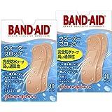 BAND-AID(バンドエイド) 救急絆創膏 ウォーターブロック 40枚×2