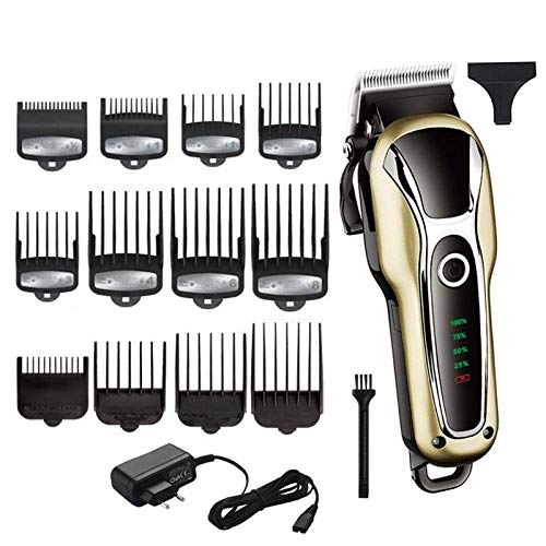 Kappers Krachtige tondeuse Professional Hair Clipper Electric Trimmer tondeuse Clipper Verstelbare Man Tool HAOSHUAI