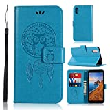 Zchen Xiaomi Redmi 7A Case, PU Leather Wallet Phone Case