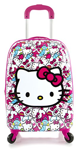 Heys America Hello Kitty Tween Spinner Luggage Pink One Size