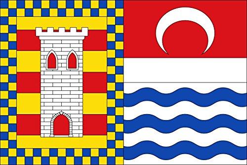 magFlags Bandera Large Municipio de La Torre de Esteban Hambrán Castilla-La Mancha | Bandera Paisaje | 1.35m² | 90x150cm