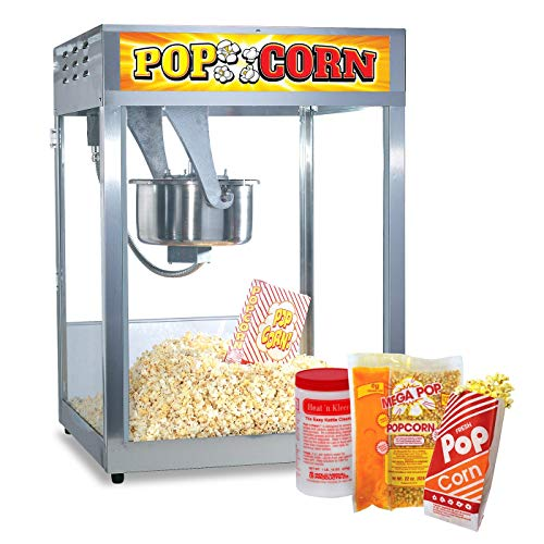 Cheap Popcorn Supply | Party Equipment and Supplies | Starter Pack | Select-a-Size Kettle | Popcorn ...