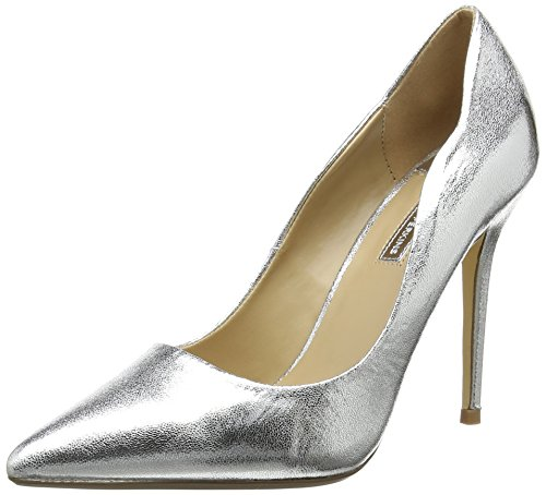 Dorothy Perkins Cynthia, Damen Pumps, Silber - Silberfarben - Größe: 41