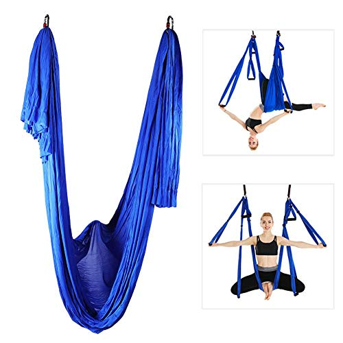 Read About MAGT Yoga Swing, Durable Yoga Swing Sling Hammock Pilates Aerial Anti-Gravity Inversion K...