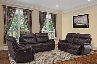 Parker Living - Dylan Mahogany 3 Piece Power Dual Reclining Living Room Set - MDYL#832PH-22CPH-12PH-MAH