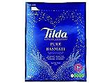 Tilda - Arroz Basmati de Cocción Fácil y Sin Gluten Para Platos Indios de Curry, Biriyani y Pilaf - Bolsa de 5 kg