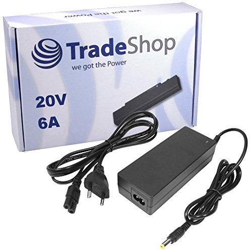 Notebook Laptop Netzteil Ladegerät Ladekabel Adapter 20V 6A 120W inkl. Stromkabel für Acer TravelMate 244-LC 291-LCI 291-LMI 301-XCI GERICOM Hummer 5600 2020eXL 2040eXL 2440C 755CAO FX5200 FX5600