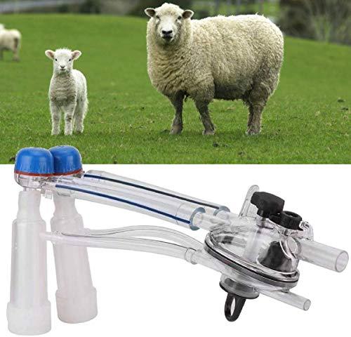 LLDKA Máquina de ordeño para ordeñar Cabras Unidad de ordeño de Cabras Catering Ganado Travers Vaca