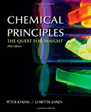 By Atkins P Jones L - Chemical Principles: The Quest for Insight (5th Edition) (10/31/12)