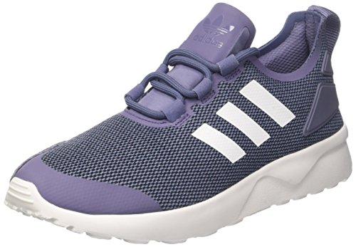 Adidas ZX Flux ADV Verve W, Zapatos para Correr para Mujer, Multicolor (Suppur/ftwwht/Conavy), 38 EU