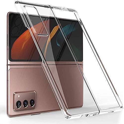 DOHUI für Samsung Galaxy Z Fold 2 5G Hülle, Superdünne Leichte PC Handyhülle [Stoßfeste] [Kratzfeste] [rutschfest] Schutzhülle kompatibel mit Samsung Galaxy Z Fold 2 5G (Transparent)