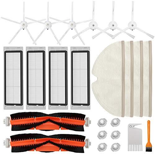 Accessories Kit Compatible with Roborock S4 S5 S6 E4 E20 E25 E35 S50 Xiaomi Mi Mijia Robotic Vacuum,...