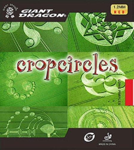 Tenis de mesa caucho: Giant Dragon círculos de la cosecha rojo buey