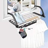 Étendoir Séchoir À Linge Pliant 47x32x18,5cm Support pour Chaussure De Séchage pour Balcon...