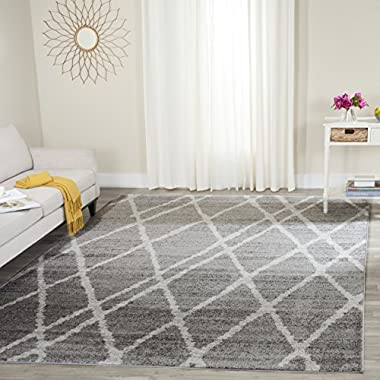 Safavieh Adirondack Collection ADR128B Ivory and Silver Vintage Area Rug (8' x 10')
