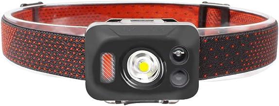 AF-WAN COB LED Head Torch, USB Oplaadbare Koplamp Super Heldere 700 Lumen LED Running Koplamp, Bewegingssensor Controle, U...