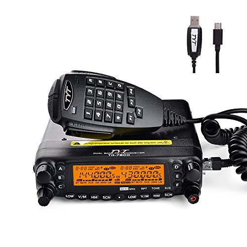 TYT TH-7800 Mobile Transceivers 50W Dual Band VHF UHF 800CH Mobile Car Radio