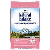 Natural Balance L.I.D. Limited Ingredient Diets Dry Dog Food, Salmon & Brown Rice Formula, 26 Pounds
