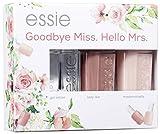 "Essie Nagellack-Geschenkset ""Goodbye Miss. Hello Mrs."", gel setter + lady like + mademoiselle, 3x 13.5 ml"