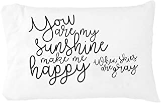 you are my sunshine pillow linen