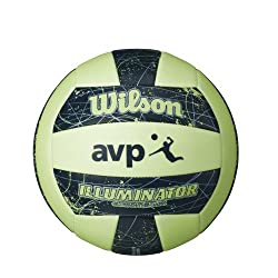 Glow in the dark volleyball