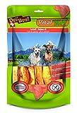 DeliBest Vital Natura Snack Wildlachsöl I Omega3 I Kausnack für Hunde I für jedes Alter und jede Größe I auch zur Zahnreinigung perfekt geeignet I natürlicher Kausnack I 200g Packung